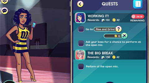 Katy Perry Pop - Quest UI