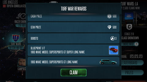 Rivals UI Upgrade - Rewards System Pop Up