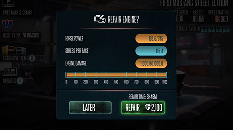 Rivals UI Upgrade - Repair Engine