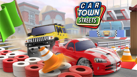 Car Town Streets - Key Art