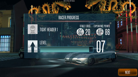 Rivals UI Update: Racer Progress