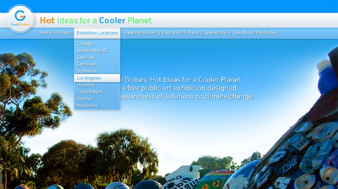 CoolGlobes Website