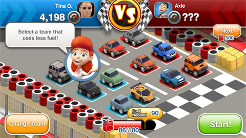 Car Town Streets - Race UI