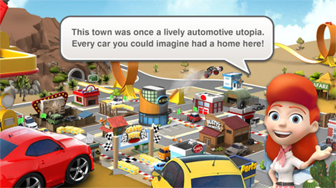 Car Town Streets - FTUE